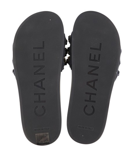 Chanel Blue Mules Image 10