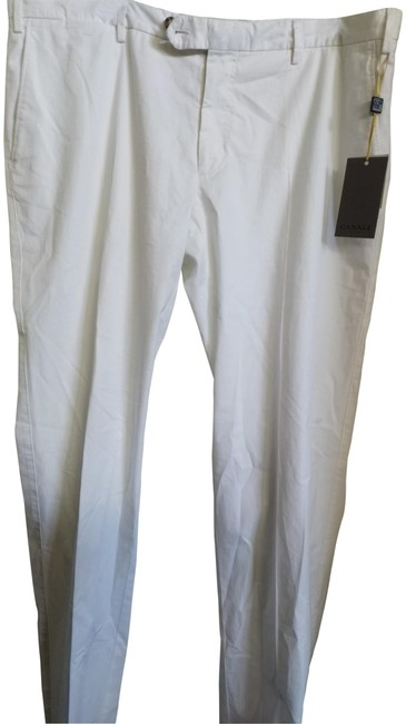 Item - White 56 Us38 Men's Made In Italy Trouser Pants Size 16 (XL, Plus 0x)