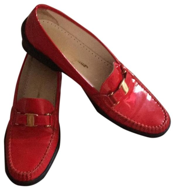 Item - Red Sr5027 Flats Size US 8 Regular (M, B)