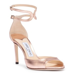 Jimmy Choo Wedding Elegant Rose Gold Formal