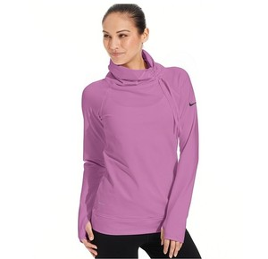 Nike NEW in Package HOT PINK Dri-FIT Mock Turtleneck