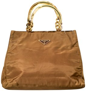 Prada 24k Tote in Gold