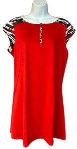 Tail TAIL ACTIVE WEAR RED TENNIS DRESS L