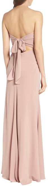 Item - Whipped Apricot Kylie Tie Back Strapless Gown Long Formal Dress Size 4 (S)