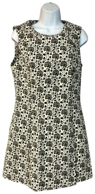 Item - Multicolor L Trafaluc Printed Poly Short Casual Dress Size 12 (L)