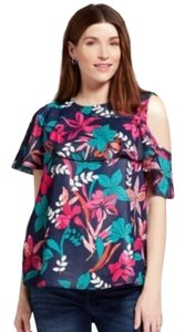 Ingrid & Isabel Asymmetrical Flounce One Shoulder Maternity Top