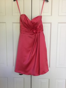 Allure Bridals Watermelon Style Number 1200 Formal Bridesmaid/Mob Dress Size 6 (S)