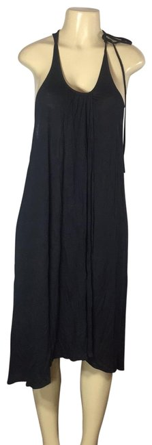 Free People Black Sexy Evening Mid-length Cocktail Dress Size 8 (M) Free People Black Sexy Evening Mid-length Cocktail Dress Size 8 (M) Image 1