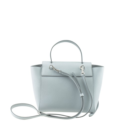 Céline Leather Tote in Blue Image 4