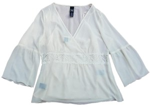 jcp Weekend Penney Top Cream
