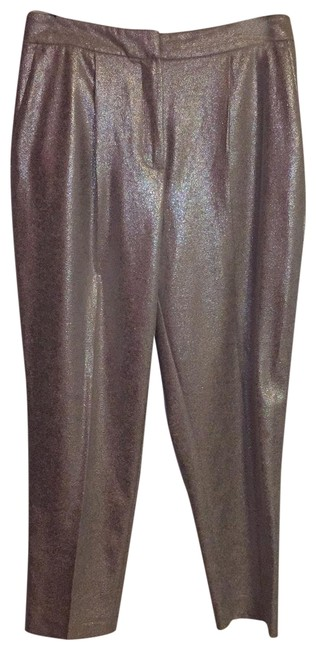 Item - Silver Pewter Limited Edition Metallic Pants Size 8 (M, 29, 30)