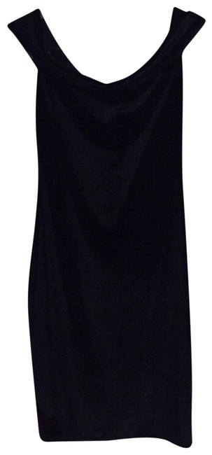 Club L Black Velvet Off The Shoulder Bodycon Short Night Out Dress Size 10 (M) Club L Black Velvet Off The Shoulder Bodycon Short Night Out Dress Size 10 (M) Image 1