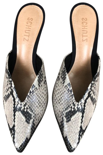 Preload https://img-static.tradesy.com/item/25613636/schutz-black-grey-beige-combo-box-leather-with-heel-35-in-approx-new-in-mulesslides-size-us-75-regul-0-2-540-540.jpg