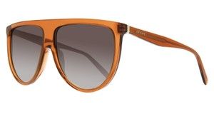 Céline Celine Cl41435s Thin Shadow Dark Orange Sunglasses Gradient Len