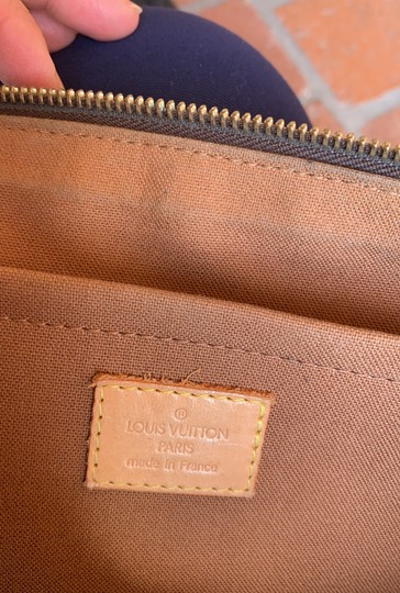 Louis Vuitton Satchel in brown. Image 7