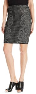 BCBGMAXAZRIA Knit Pencil Skirt Black