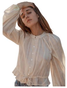 Christy Dawn Top Ivory