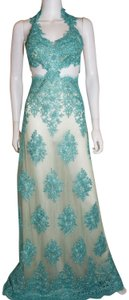 Lisa Nieves Prom Evening Gown Lace Dress