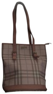 Burberry Tote in Pink Plaid