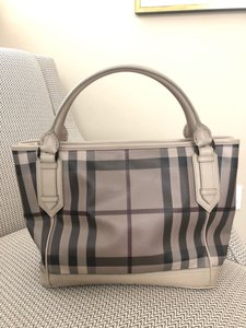 Burberry Beige Travel Bag