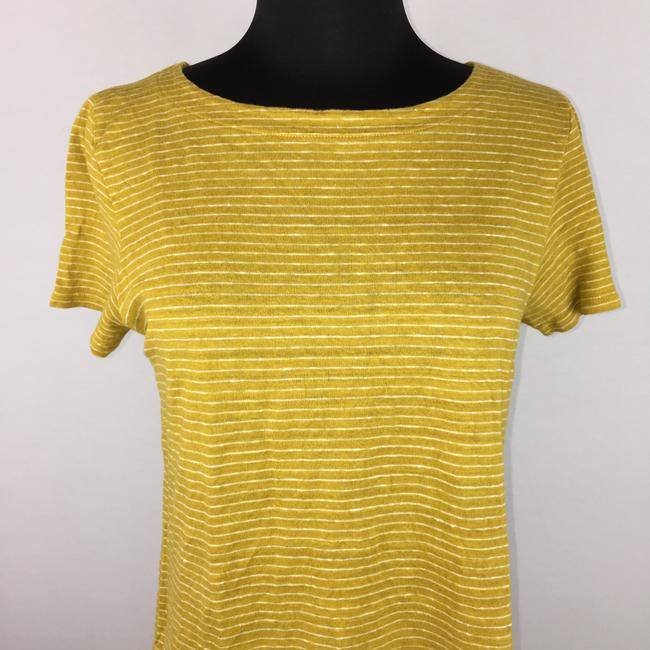 Eileen Fisher Striped Organic Linen T Shirt Multicolor Image 1