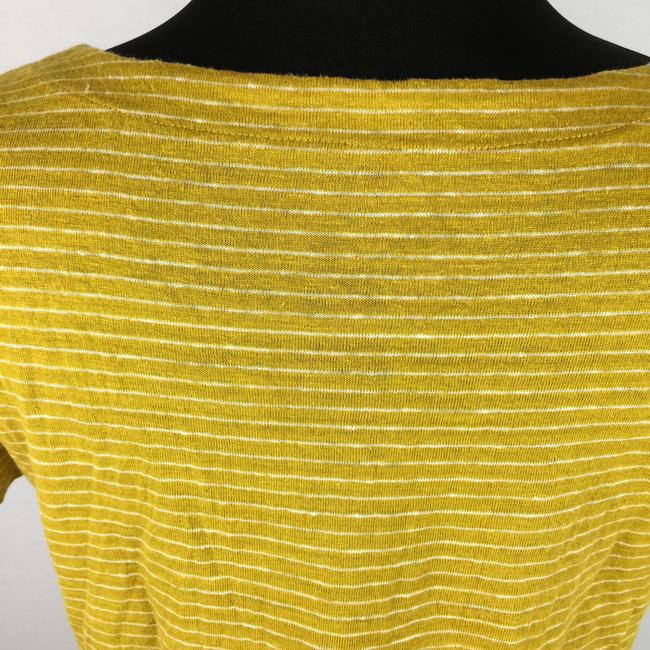 Eileen Fisher Striped Organic Linen T Shirt Multicolor Image 5