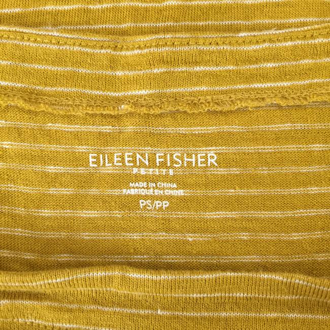 Eileen Fisher Striped Organic Linen T Shirt Multicolor Image 6