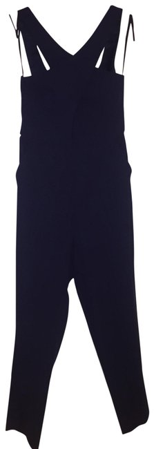 Preload https://img-static.tradesy.com/item/25615630/bcbgeneration-navy-cross-strap-fitted-open-cleavage-romperjumpsuit-0-1-650-650.jpg