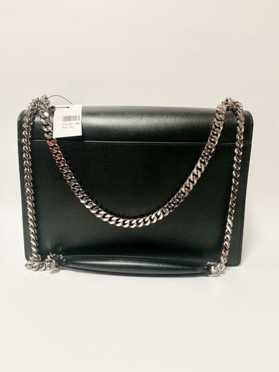Saint Laurent Large Ysl Sunset Black Shoulder Bag Image 4