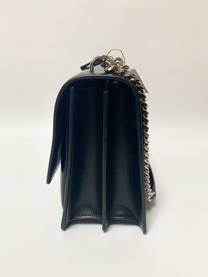 Saint Laurent Large Ysl Sunset Black Shoulder Bag Image 5