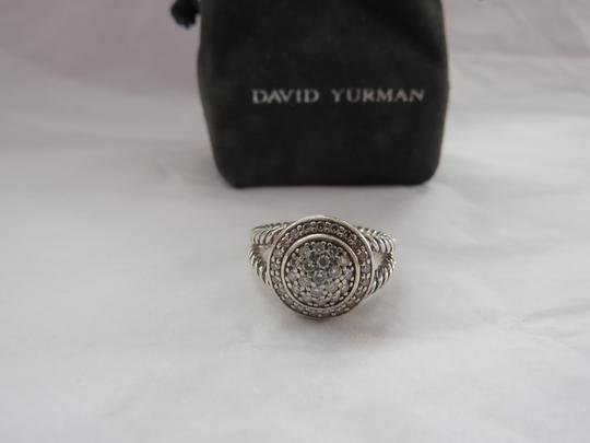 David Yurman The Cerise Collection - Pave' Diamond Ring, Size 7.25 Image 1