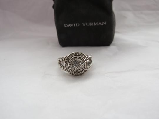 David Yurman The Cerise Collection - Pave' Diamond Ring, Size 7.25 Image 2