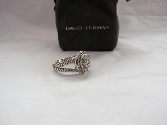David Yurman The Cerise Collection - Pave' Diamond Ring, Size 7.25 Image 6