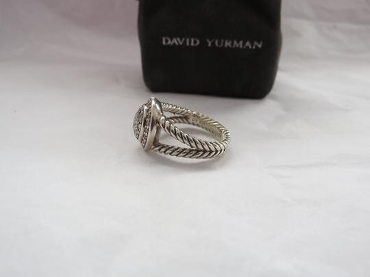 David Yurman The Cerise Collection - Pave' Diamond Ring, Size 7.25 Image 9