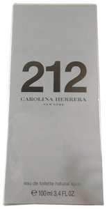 Carolina Herrera CAROLINA HERRERA 212 Eau de Toilette Natural Spray 3.4oz