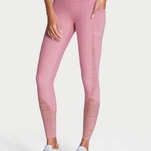 d1c92148790ff6 Victoria's Secret VS Sport Knockout Pink lace insert tights/leggings