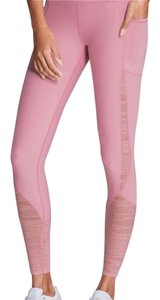 Victoria's Secret VS Sport Knockout Pink lace insert tights/leggings
