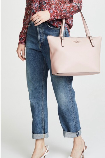 Kate Spade Classic New Tote in Dusty Vellum (Light Pink) Image 2