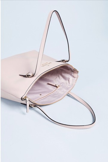 Kate Spade Classic New Tote in Dusty Vellum (Light Pink) Image 4