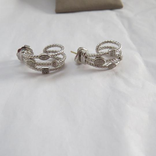 David Yurman Confetti Collection -Silver Ice SS and Pave' Diamonds Image 3
