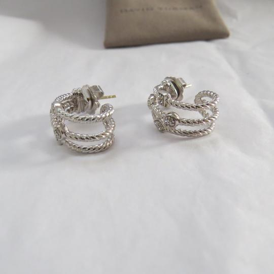 David Yurman Confetti Collection -Silver Ice SS and Pave' Diamonds Image 4