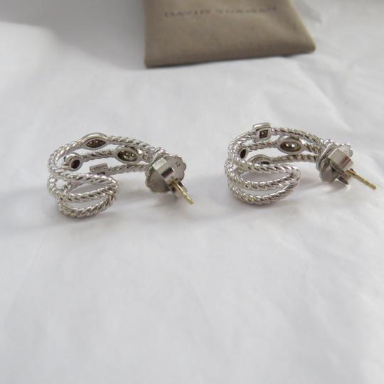 David Yurman Confetti Collection -Silver Ice SS and Pave' Diamonds Image 5