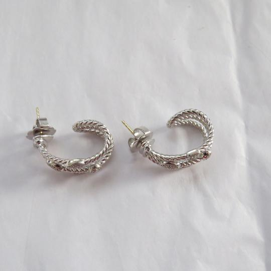 David Yurman Confetti Collection -Silver Ice SS and Pave' Diamonds Image 6