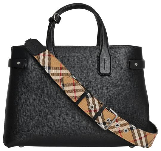 Burberry Banner Medium Satchel Check Shoulder Bag Image 0