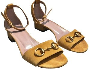 Gucci Yellow mustard Sandals