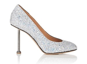 Maison Margiela Silver Glitter Pumps Size US 9 Regular (M, B)