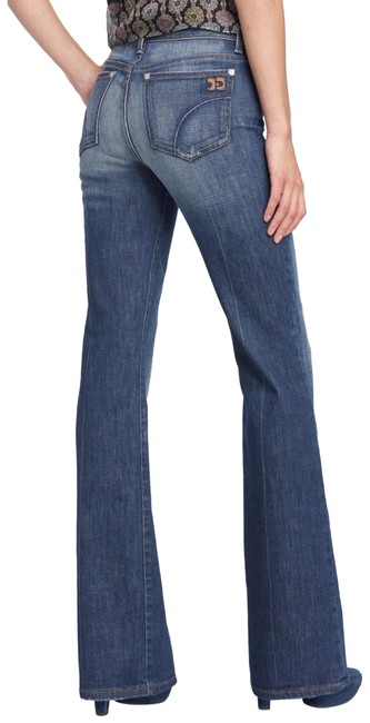 Item - Distressed 'the Muse' Julie Wash Boot Cut Jeans Size 6 (S, 28)