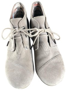 TOMS Tan, Taupe Boots