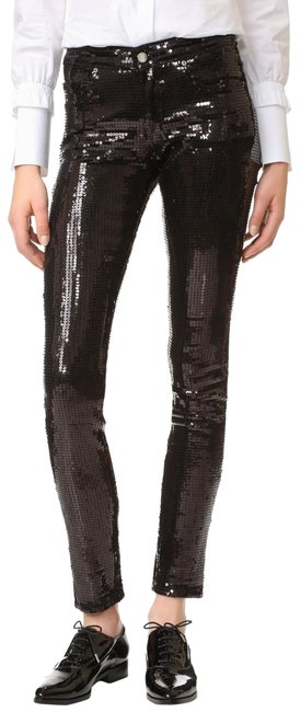 Preload https://img-static.tradesy.com/item/25617452/victoria-beckham-black-tailored-sequin-pants-size-2-xs-26-0-1-650-650.jpg