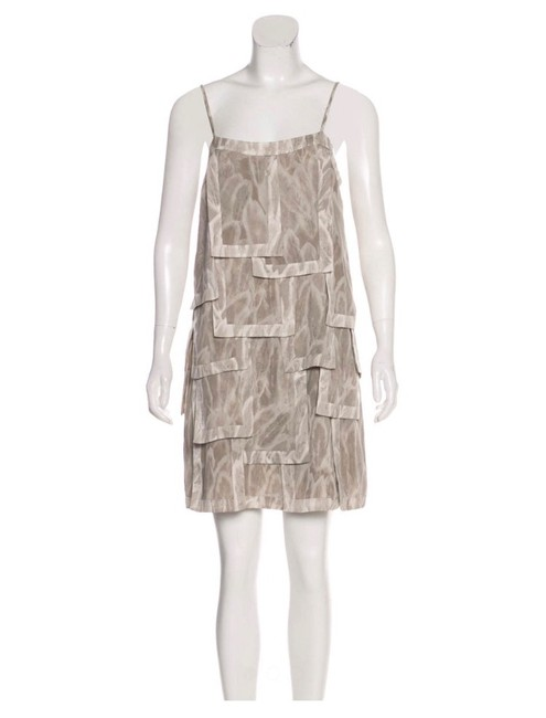 Item - Grey Heritage Short Casual Dress Size 4 (S)
